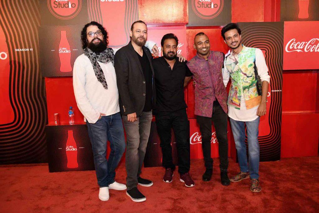Coke Studio Season 11 Houseband - Omran Shafique, Kamran Mannu Zafar, Babar Khanna, Kami Paul and Rufus Shahzad