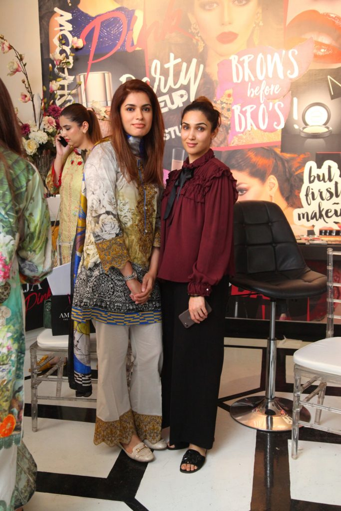 Hajra Bilal and Samaa Ali