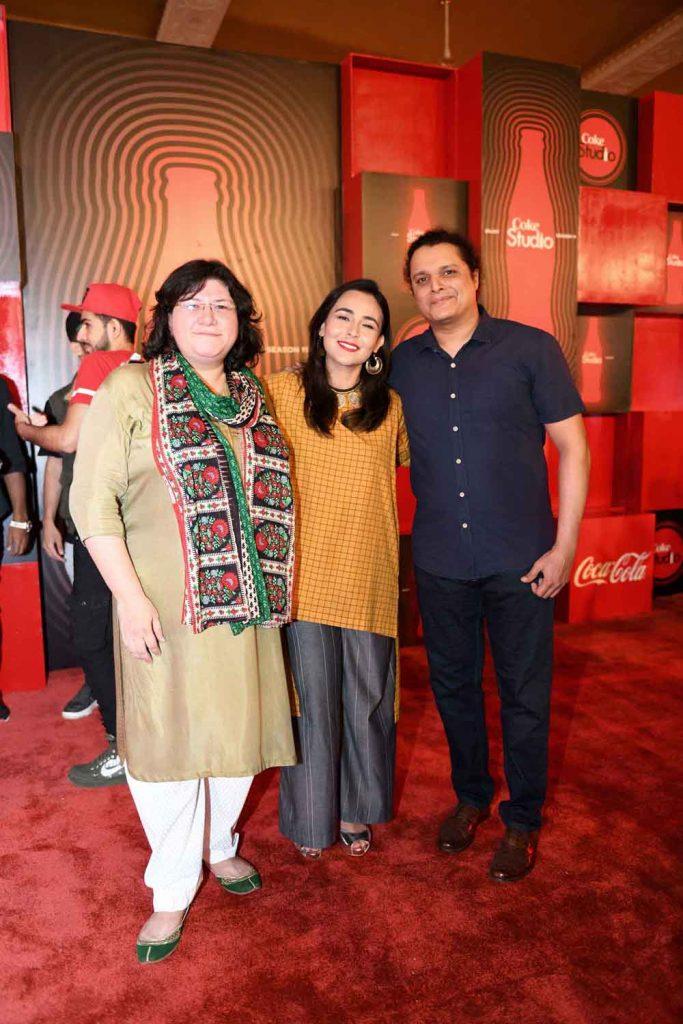 Haniya, Natasha Baig and Mekaal Hassan