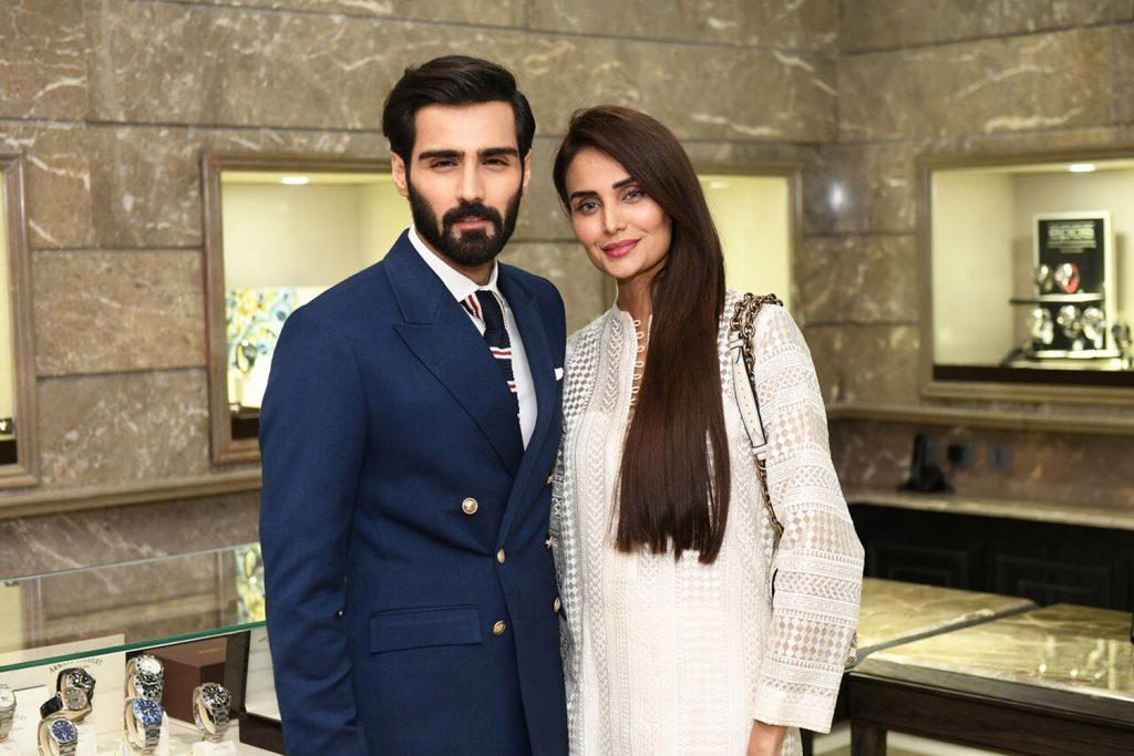 Hasnain Lehri and Mehreen Syed