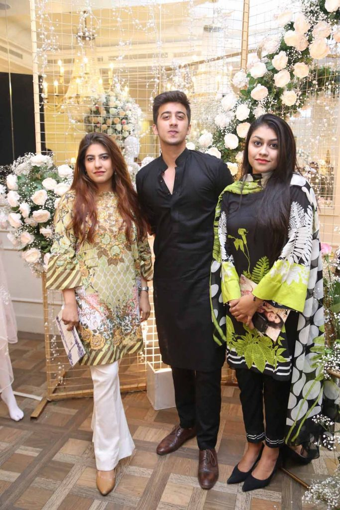 Hira, Hussain and Zaarish