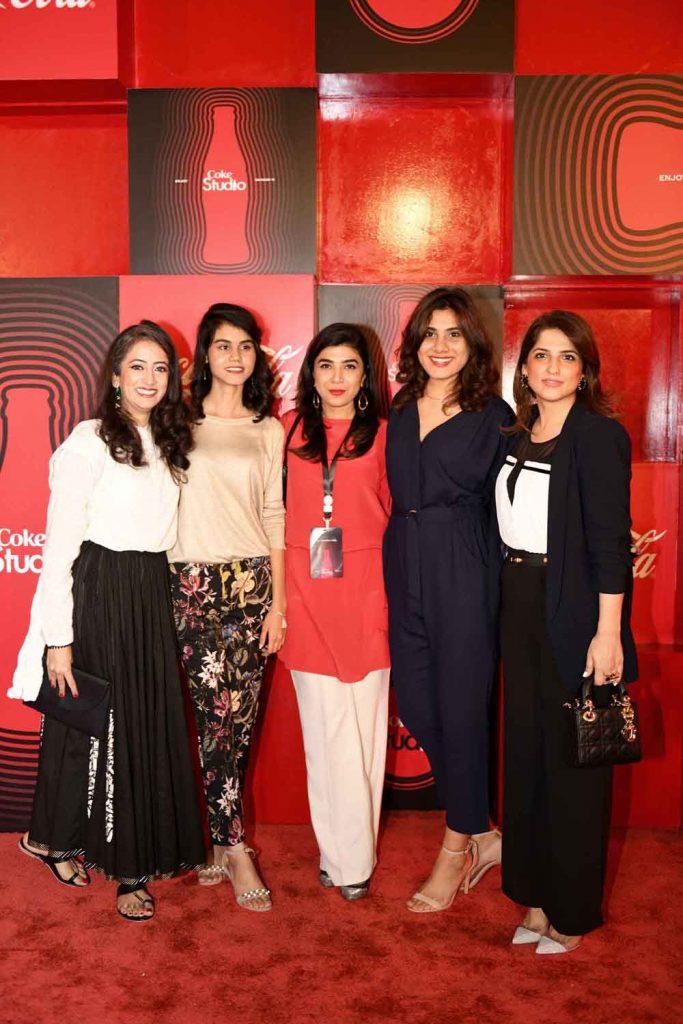 Insiya Syed, Ayesha, Sadaf Zarrar, Beenish and Nafisa Khalid