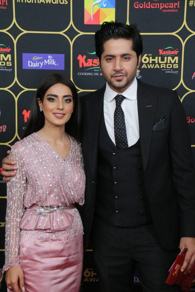 Iqra Aziz and Humayun Saeed
