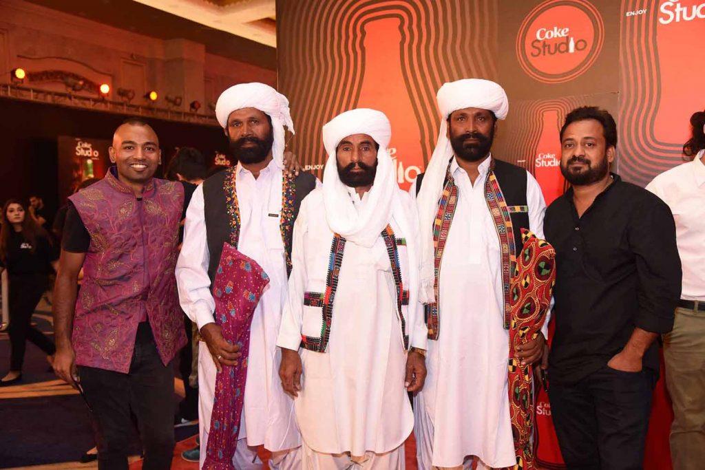 Kami Paul, Darehan Khan Maula Baksh, Shayan Maula Baksh, Mangal and Babar Khanna (1)