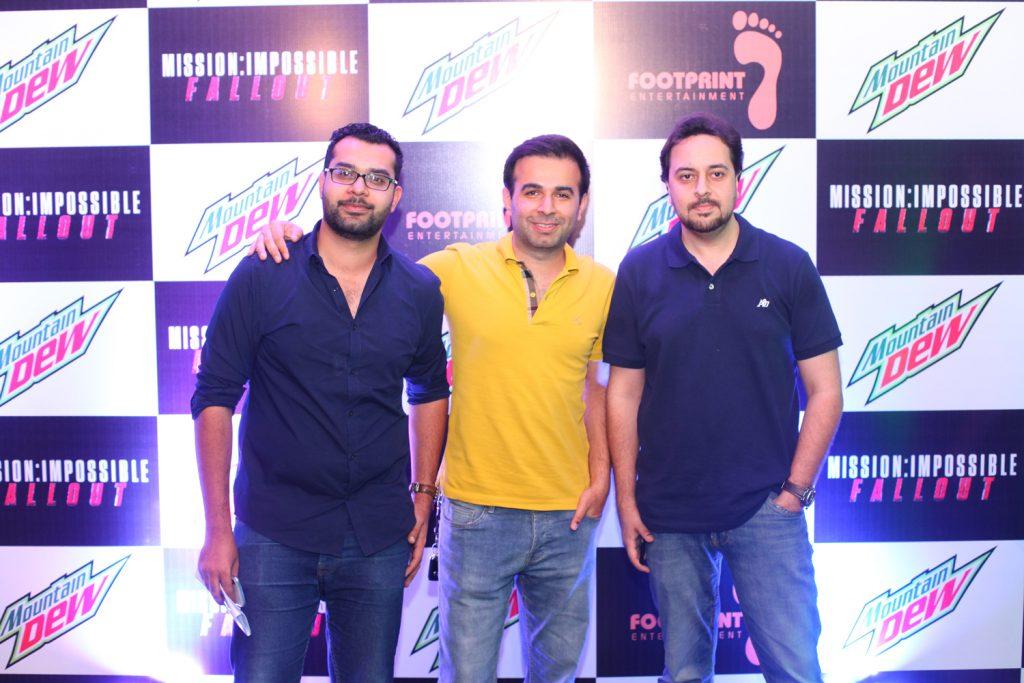 Kumail, JB and Sarfaraz