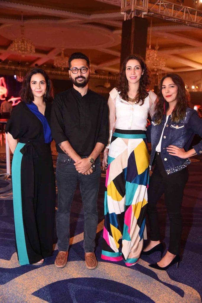 Mehr Qadir, Shahab Hussain, Wajiha Naqvi and Rachel Viccaji (2)