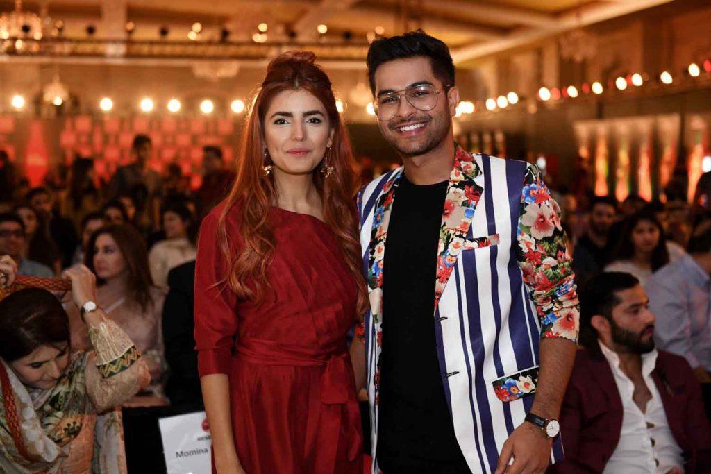 Momina Mustehsan and Asim Azhar