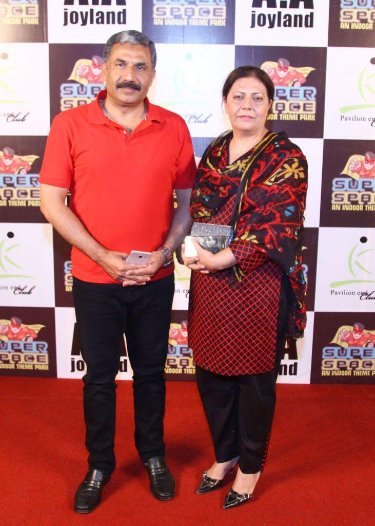 Mr. & Mrs. Saeed Akmal