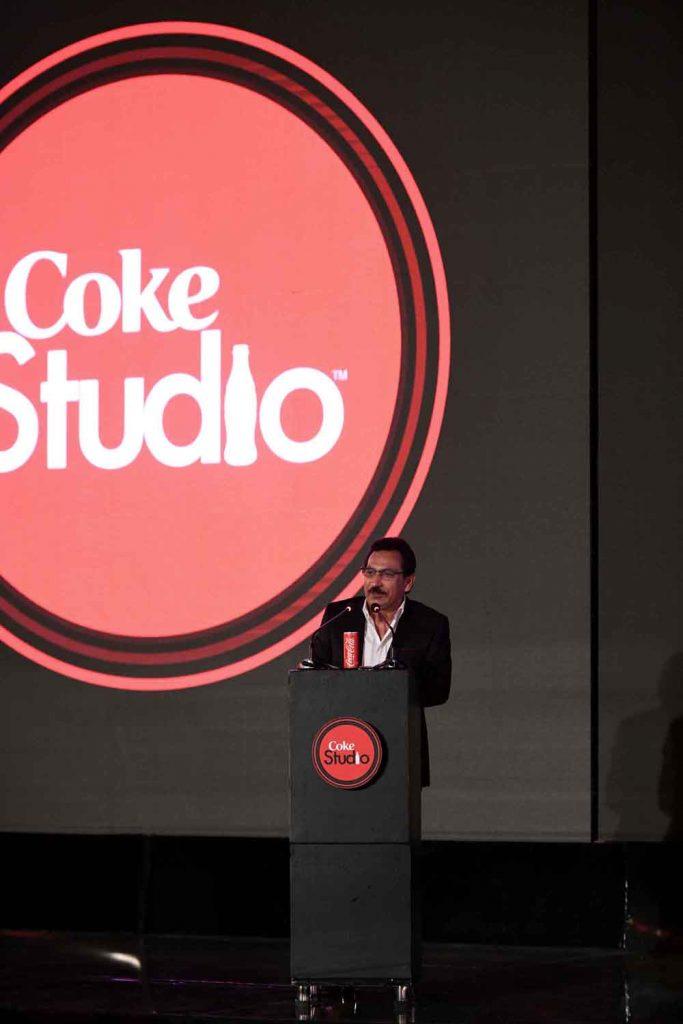 Mr. Rizwan U. Khan, General Manager Coca-Cola Pakistan & Afghanistan addressing the audience