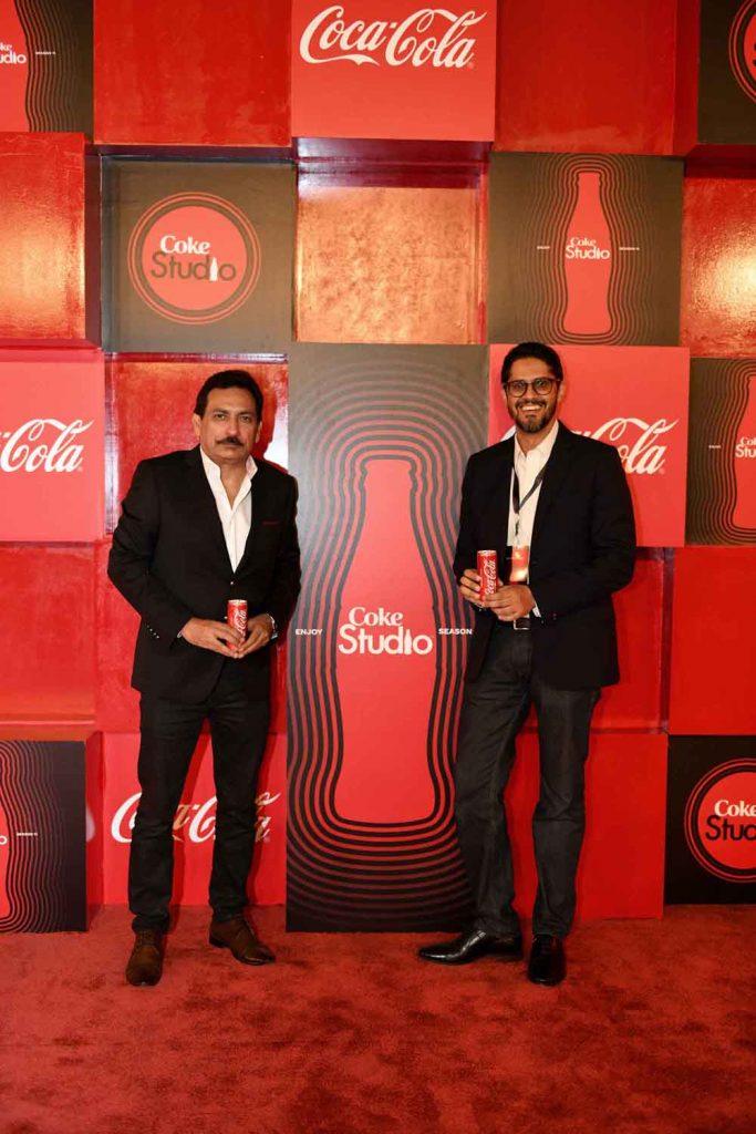 Mr. Rizwan U. Khan, General Manager and Mr. Abbas Arslan, Marketing Director - Coca-Cola Pakistan & Afghanistan
