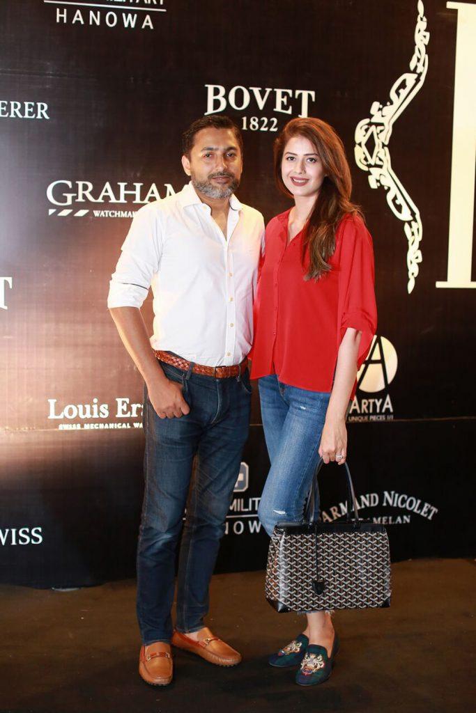 Mr. and Mrs. Imran