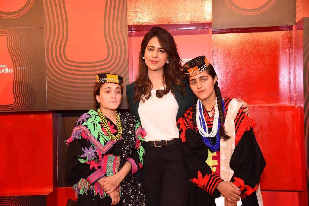 Natasha Haroon with Ariana and Amrina