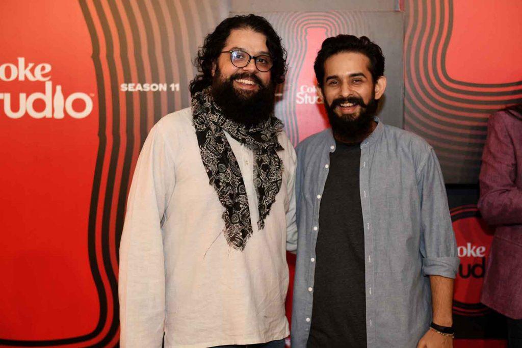 Omran Shafique and Jimmy Khan