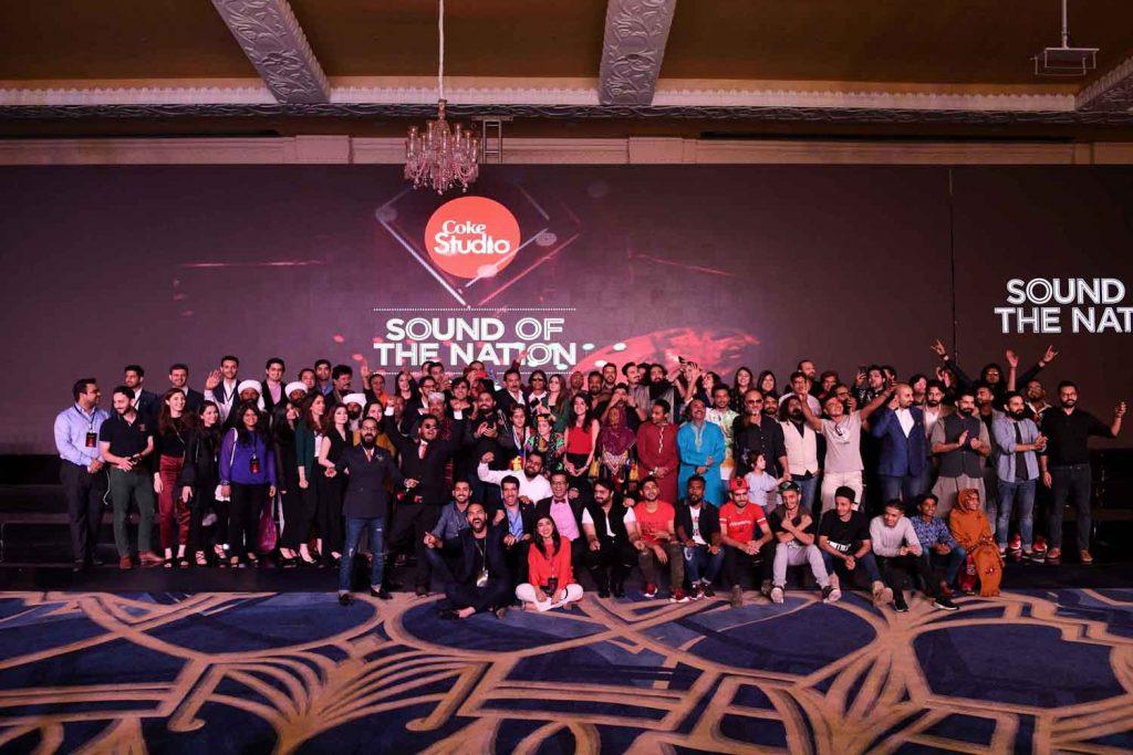 Over 70 artists from Coke Studio Season 11 and Team Coca-Cola Pakistan (1)