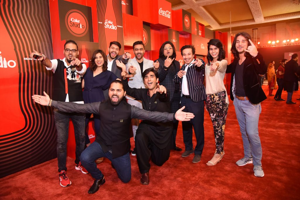 Producers Zohaib Kazi and Ali Hamza with their team at Front Foot Media (1)