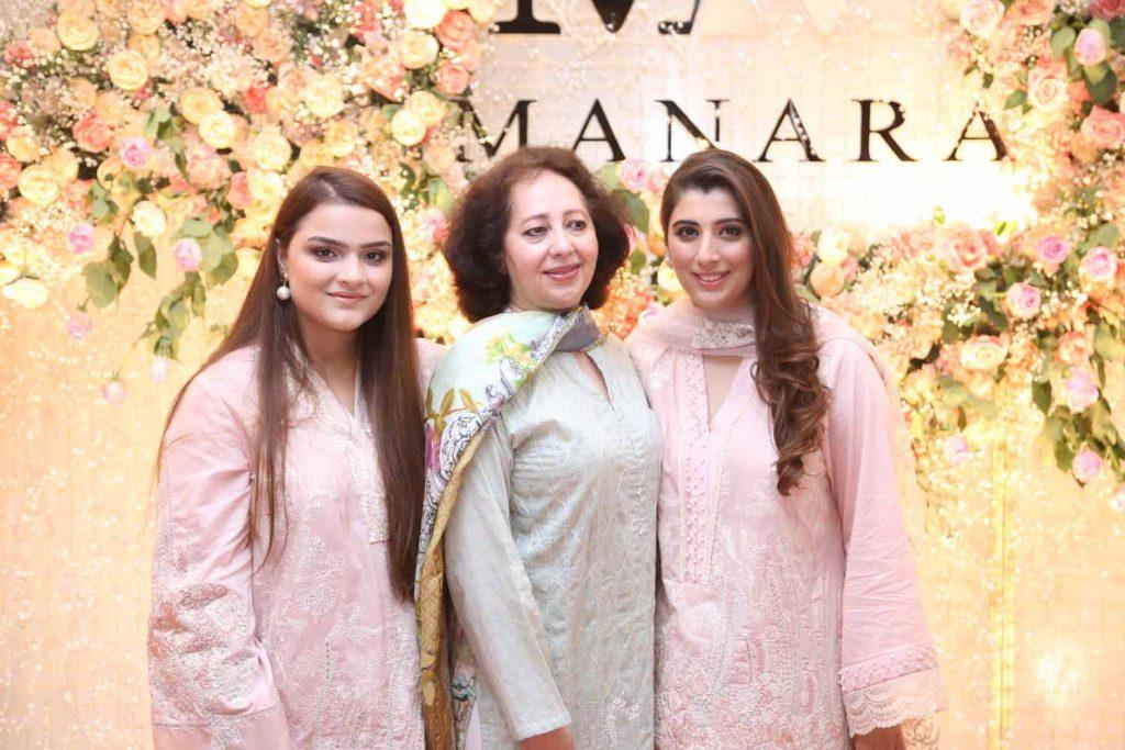 Sana Yasir, Khillat Sohail and Maria Baig