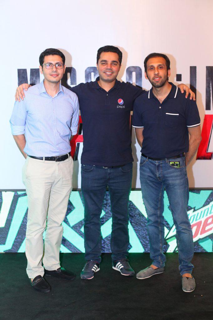 Saqib, Saad and Masood