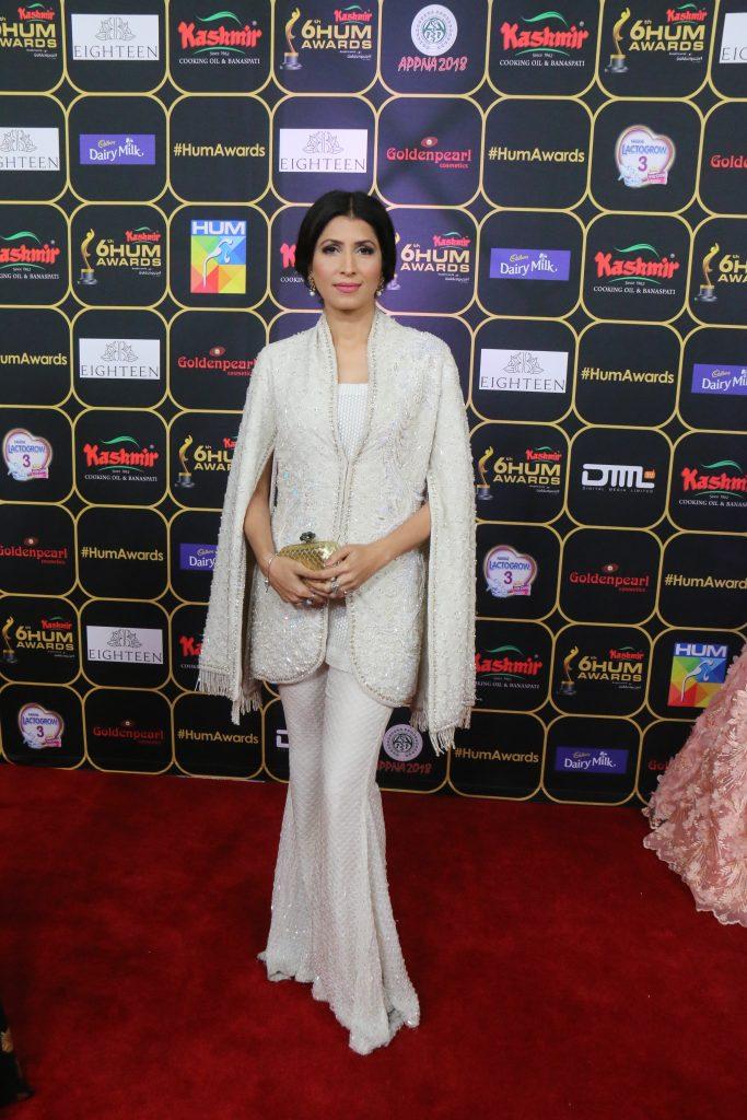 Vaneeza Ahmed - supermodel Vinnie in Faraz Manan is still salying the red carpet
