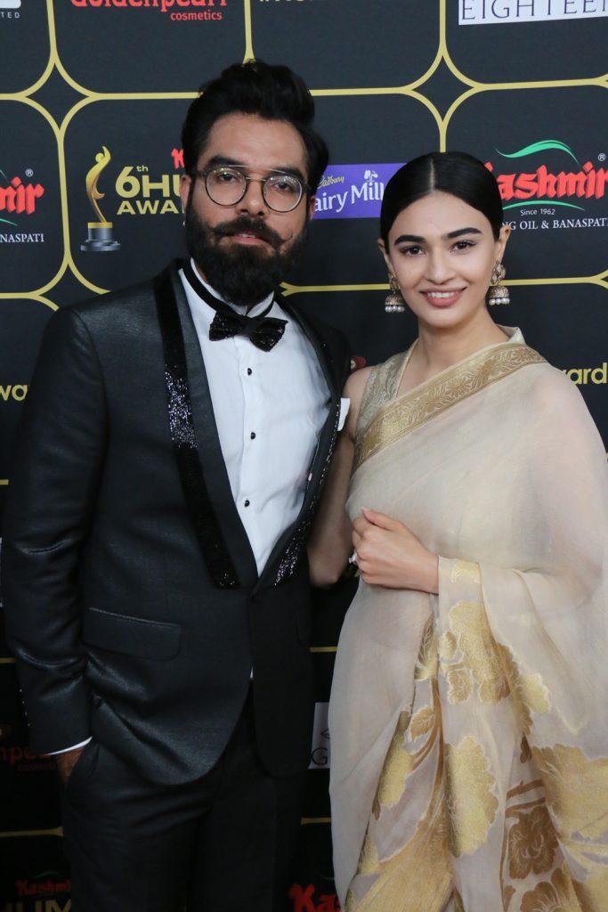 Yasir Hussain and Saheefa Jabbar