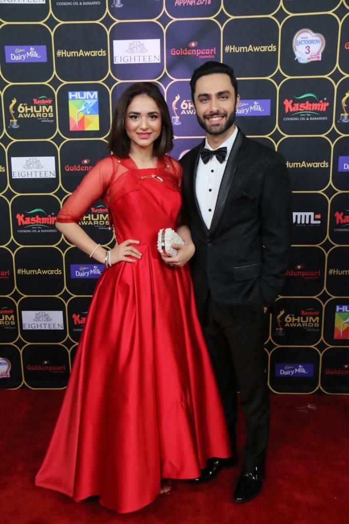 Yumna Zaidi and Ahmed Ali Akbar