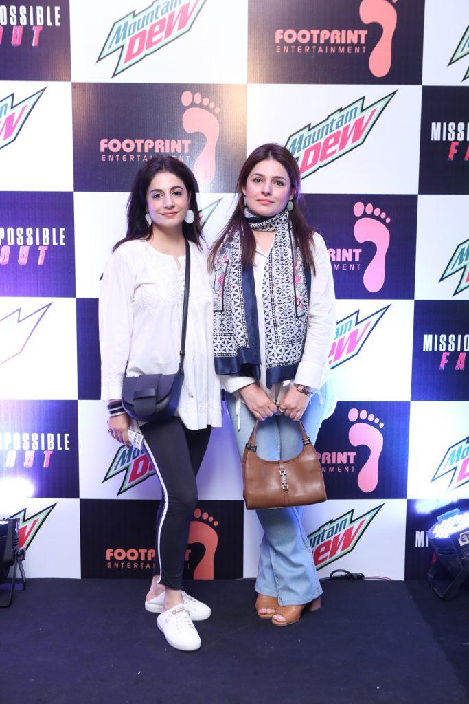 Zarmeena and Ayesha Zaman