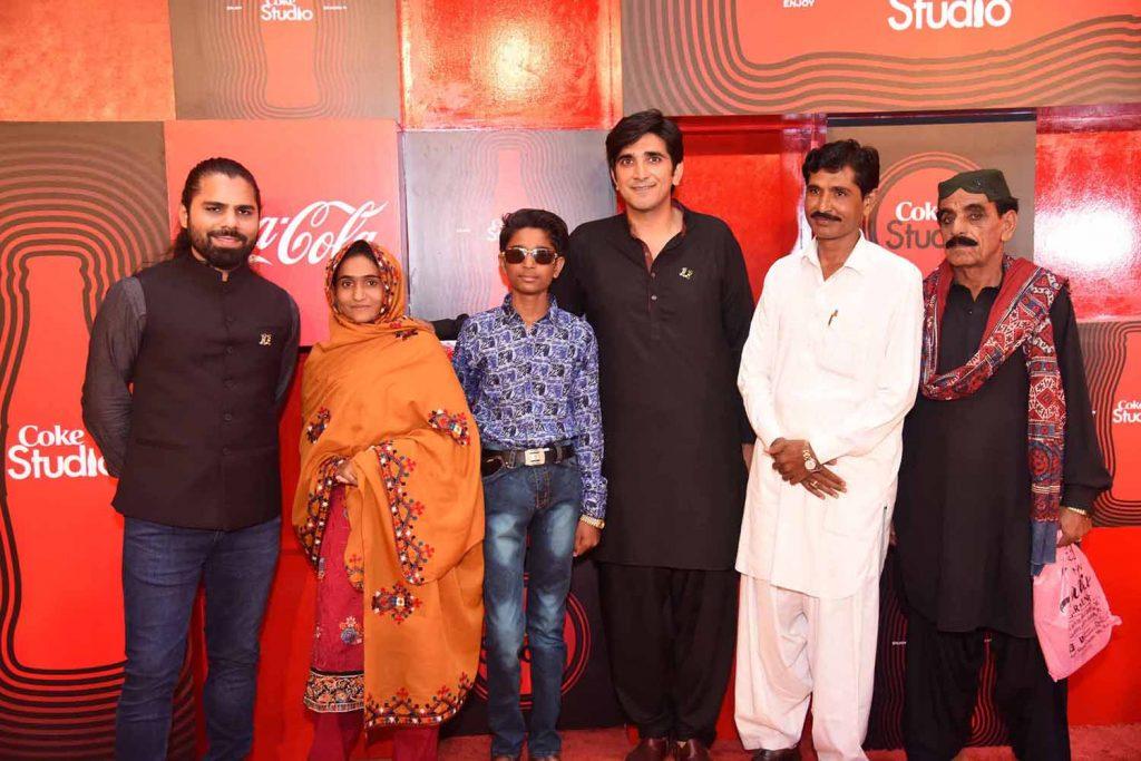 Zohaib, Shamu Bai, Arjun, Ali Hamza and Arjun