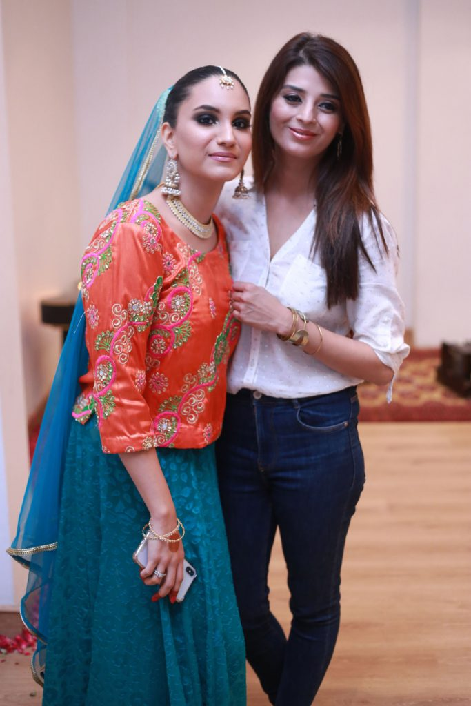 Alaina Roy and Fariha Ali Azmat