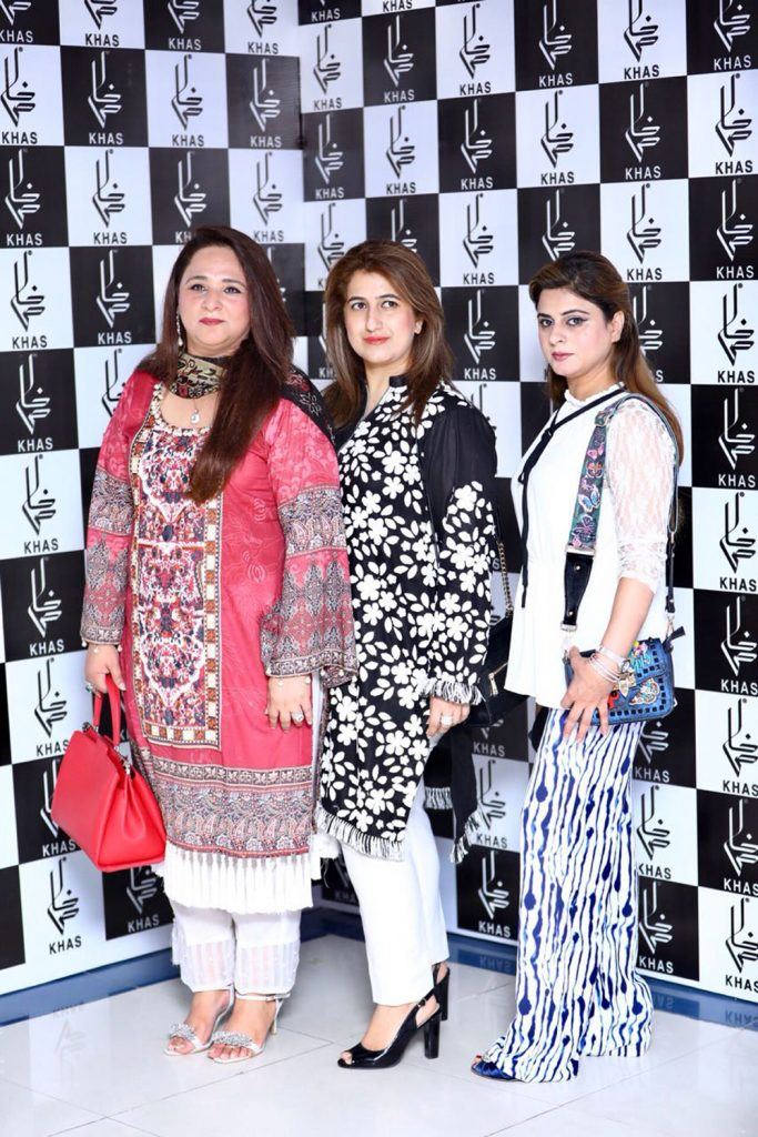 Amna Khurram, Fareeha Faisal and Nazia Khurram