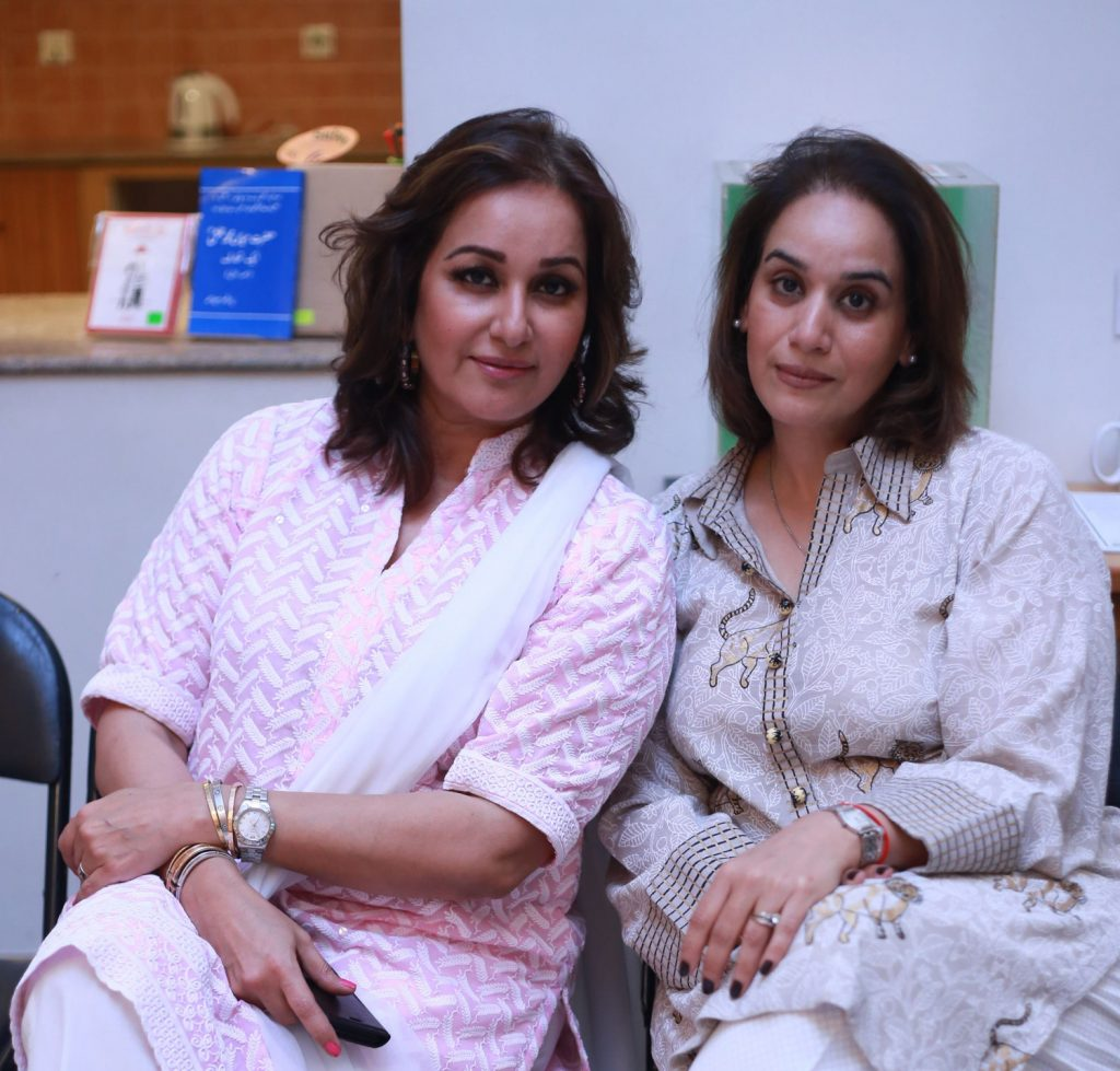 Mahyra Roy and Farah Husain