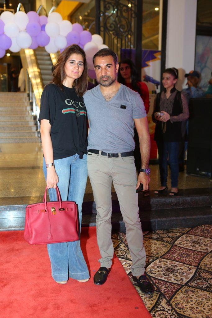 Mariam Saqib and Shahid