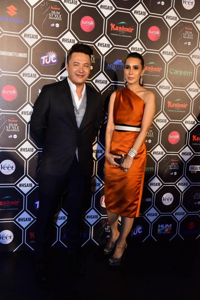 Mohsin Ali and Sana Hashwani
