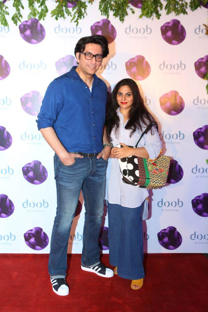 Raza Rehman and Maria
