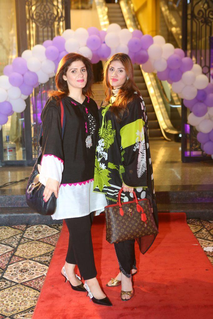 Sadia and Hira
