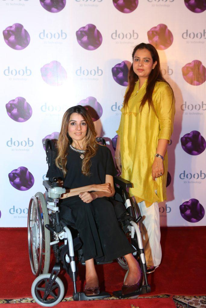 Sana Khurshid and Saba