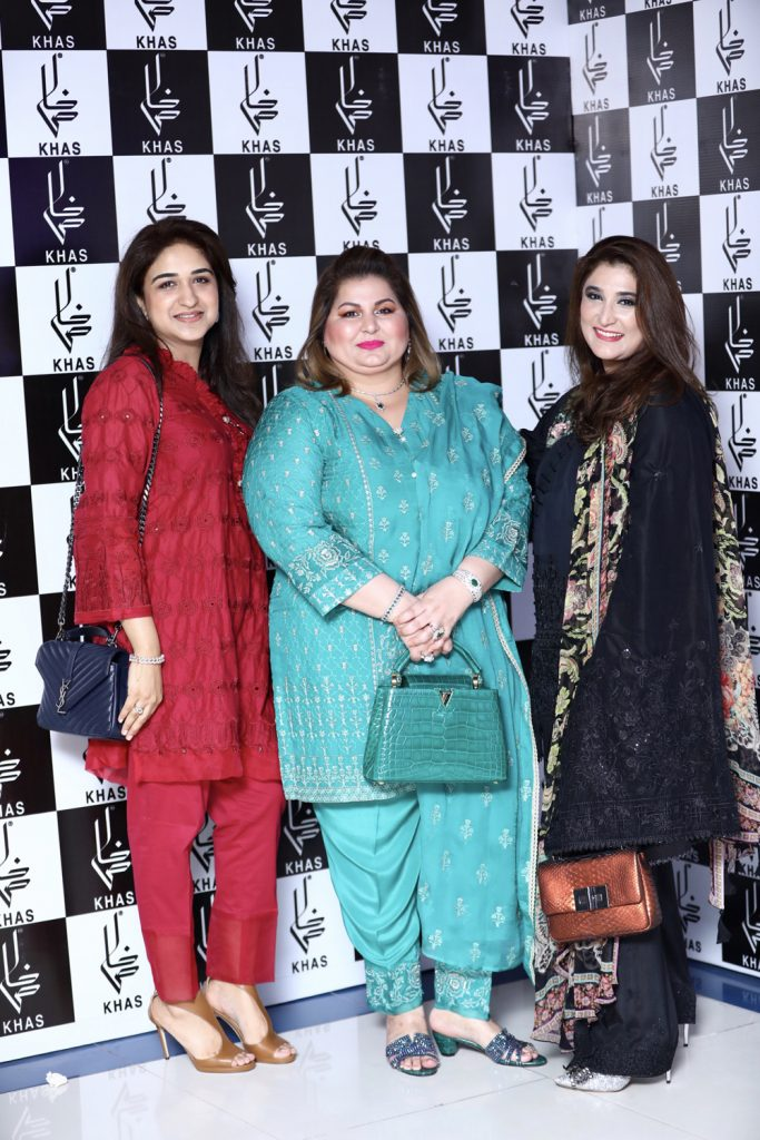 Sana Yousaf, Shehla Raza and Nazish Awais