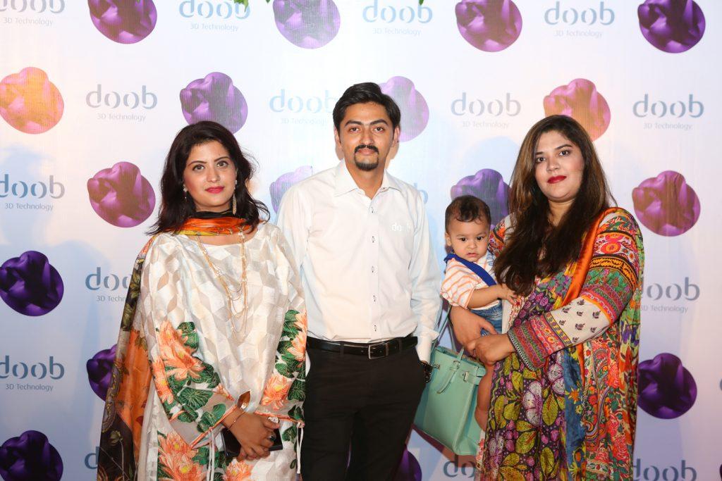 Sara, Zain, Huzaifa and Raheela