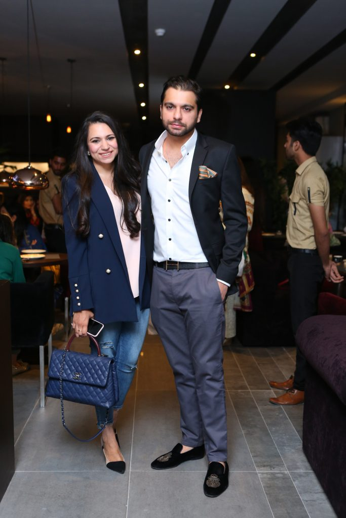 Waleed Nagi and Aneeta