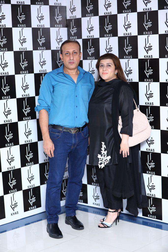 Yousaf Ijaz and Nadia Yousaf