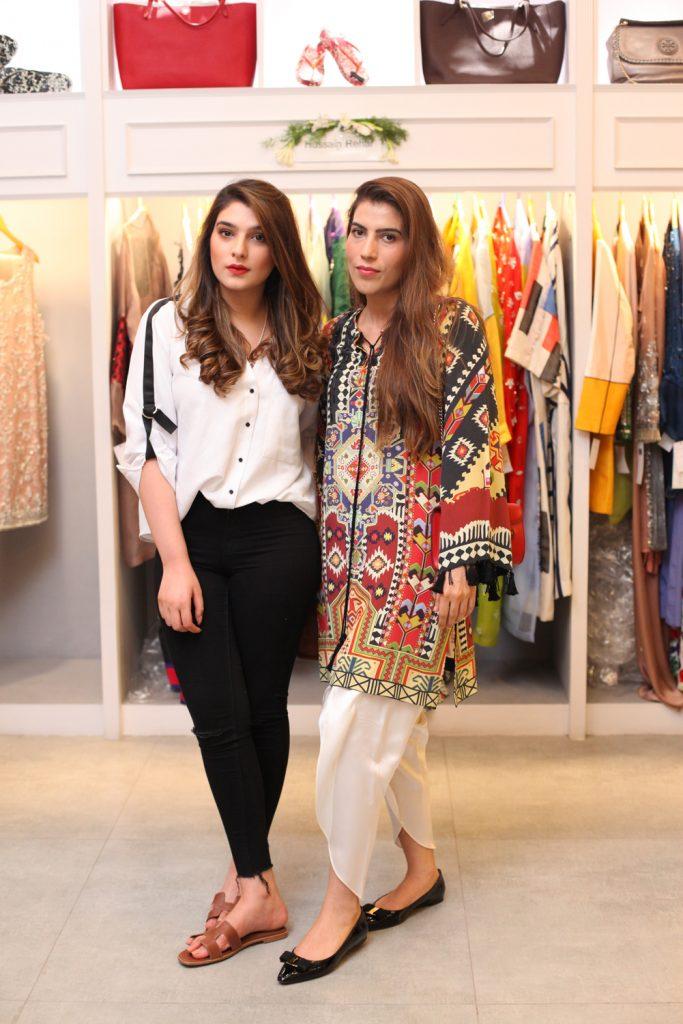 Zainab Raza and Summaiya