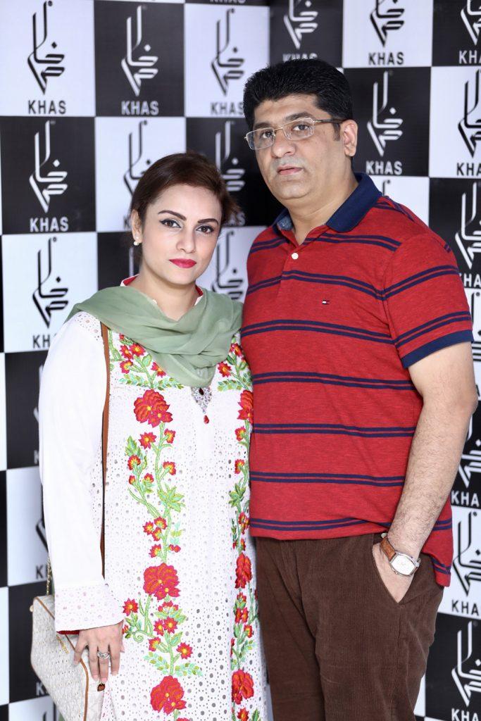Zeeshan Ali and Rabia Zeeshan